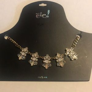 RUE21 necklace with geometric bling
